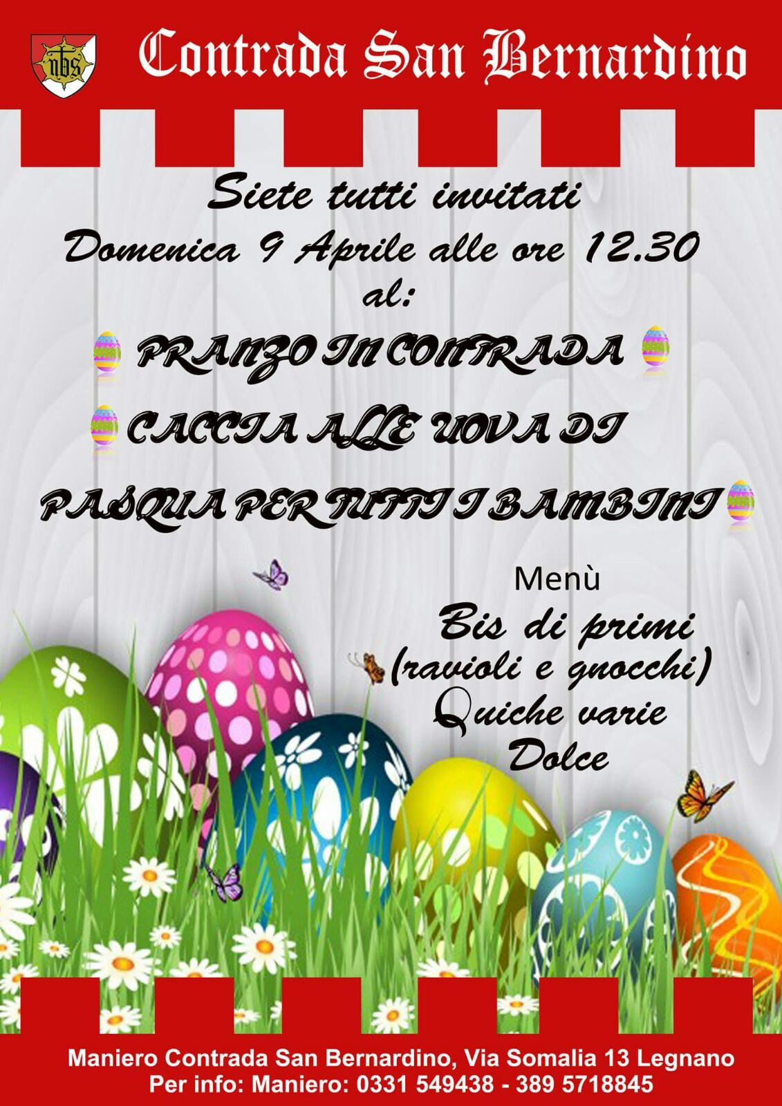 Locandina Pranzo 9 Aprile